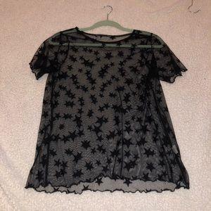 mesh starT-shirt
